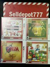 Lot 4 Nintendo 3DS Video Games Brand New Sealed Mario Zelda ,Nes Remix