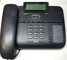 Gigaset DA 710  Schwarz  DA710 Analog Schnurgebunden Telefon