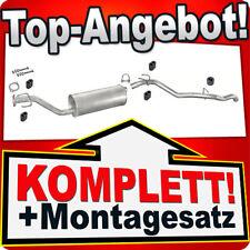 Auspuff OPEL FRONTERA A SPORT 2.0 4x4 SWB 2-TUREN 115PS 92-95 Auspuffanlage 828