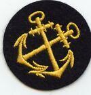 WWII Kriegsmarine Coxswain Sleeve Badge / Patch