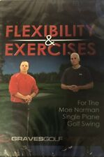 Sealed Graves Golf Academy Flexibility And Exercises Dvd Moe Norman Swing