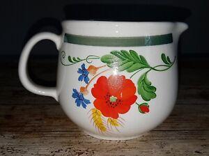# DDR Torgau Keramik # Platte # Fleischplatte # seltene Farbe # Petrol # @ 1-20