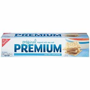 Premium Original Saltine Crackers, 4 Ounce (12-Boxes)
