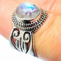 Rainbow Moonstone 925 Sterling Silver Ring Size 7 Ana Co Jewelry R26975F