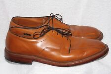 Allen Edmonds Hillcrest Tan Burnished Calf Skin 13 D