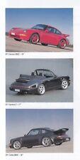 PORSCHE TECHART Mito Felgen Räder 911 993 964 Turbo 928 Prospekt Brochure /43