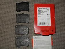 Kia & Mazda front brake pads incl Pride & 121