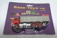 Base Toys LC-X5 Commer 6wheel high sided tipper n red/silver OO Gauge 1:76 Boxed