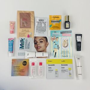 15pc Travel / Sample size Beauty LOT ~ High End Makeup Beauty Skincare Samples
