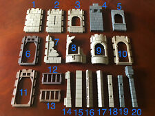 Replacement Vintage Playmobil Medieval Castle Wall Parts - You choose the pieces