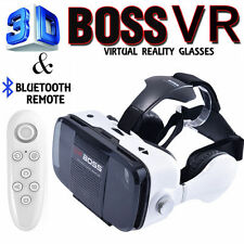 3D VR Headset Boss Virtual Reality Glasses for iPhone 6s 6 plus Samsung Note7 S7