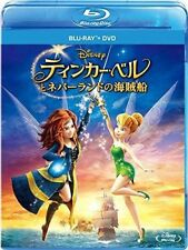 DISNEY-TINKER BELL AND THE PIRATE FAIRY-JAPAN Blu-ray+DVD I98