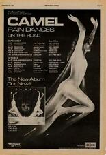 Camel Rain Dances UK Tour advert 1977