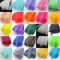 1.5cm CRINOLINE FLEXIBLE SINAMAY HORSE-HAIR BRAID MILLINERY FASCINATOR DRESS