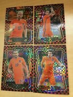 NETHERLANDS 2017 18 PANINI SELECT CHECKERBOARD PRIZM REFRACTOR SP LOT OF (4)