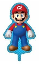 Super Mario Bros Mario Nintendo Giant Foil Helium Party Balloons Twin Pack NEW