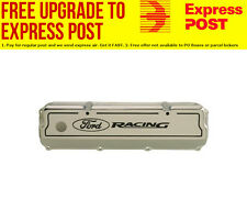 Ford Racing Aluminium Valve Covers (Polished) Suit Ford 302-351C (Cleveland)