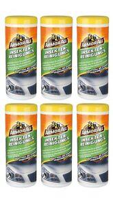 Armor All® 0,16€/Einheit Insekten Reinigungstücher 6x30 Tücher 36115L Teer Harz