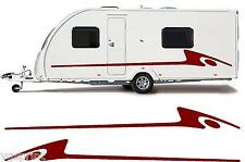 MOTORHOME/CARAVAN VINYL GRAPHICS KIT DECALS STICKERS STRIPES #02XXL FAST POST
