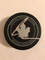Auston Matthews Signed Autographed Toronto Maple Leafs Official Game Puck Coa
