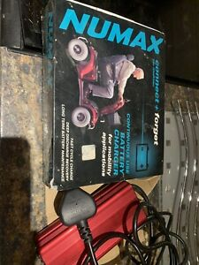 Numax Mobility Battery Charger 24V 2A for Sterling Little Gem Scooter