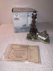 HARBOUR LIGHTS  #429 SANIBEL FLORIDA 2000 W/ COA BOX  Lighthouse Figurine #A467
