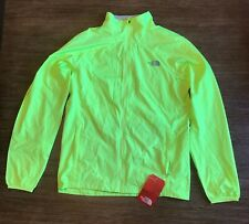 The North Face Men Ambition Dayglo Yellow Heather Jacket, ASIA MEDIUM/ US SMALL