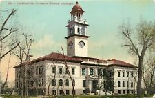 c1907 Mitchell Postcard 283 Court House Colorado Springs CO El Paso County