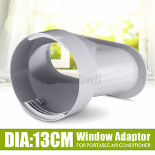 13cm/5'' Window Adaptor PVC White For Portable Air Conditioner Exhaust