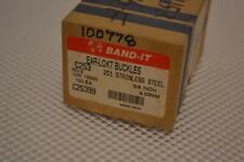 ONE NEW 100 PIECE BOX OF BAND-IT EAR-LOKT BUCKLES C25399.