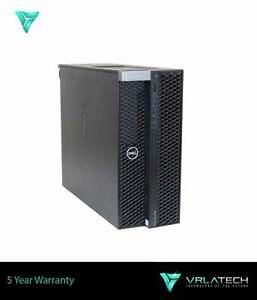 DELL T7820 Workstation 8GB RAM  Silver 4114 3x 2TB & 256GB K1200