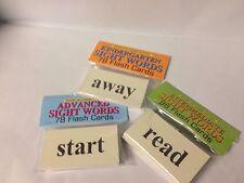 Huge Sight Word Pack - 252 Words - Set Of Three Decks NEW