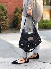COACH Poppy Spotlight Black Patent Leather Handbag Shoulder Tote Bag