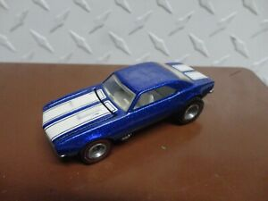 Loose Hot Wheels Blue Mail Away '67 Camaro w/Redline Real Riders
