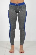 Abbigliamento sportivo da donna leggings blu l