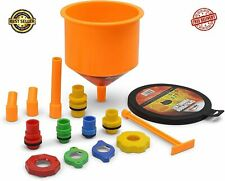 Spill Proof Radiator Coolant Filling Funnel Cooling System Fill Kit Air Pockets