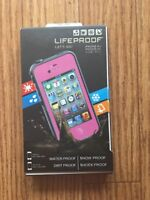 LifeProof Waterproof Water Dust Proof Case for iPhone 4/4S (Pink)NEW