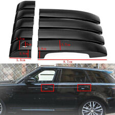For Land Rover Range Vogue L322 2002-09 9Pcs Black ABS Door Handle Covers Trim