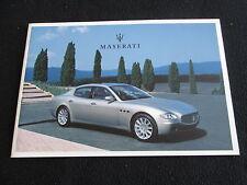 2004 Maserati GERMAN Brochure Quattroporte Spyder Vintage Coupe GT Sales Catalog