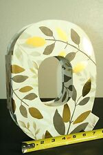 Celebrate It Letter Box Gifting Decorative Leaf Keepsake Box Letter Q NWT