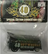 VW DRAG BUS Hot Wheels 2008 Japan Custom Car Show Limited Edition Code-3 Car