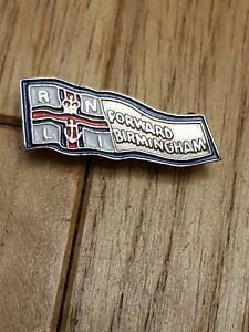 VERY RARE VINTAGE RNLI FORWARD BIRMINGHAM ENAMEL PIN BADGE lifeboats