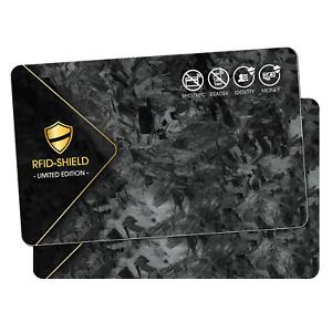 2x NFC Shield Card - Limited Edition - NFC Blocker Karte für EC & Kreditkarten