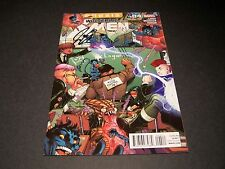 SIGNED JASON AARON WOLVERINE AND THE X-MEN #4 1ST PRINT UNCANNY NEW LEGACY LOGAN