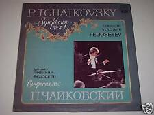 P. Tchaikovsky Symphony No. 3 Fedoseyev Melodiya LP