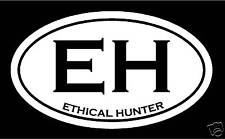 Ethical Hunting Decal archery waterfowl deer buck