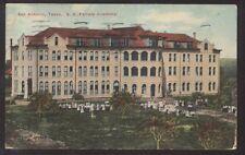 Postcard SAN ANTONIO Texas/TX  S.A. Female Academy Building view 1907?