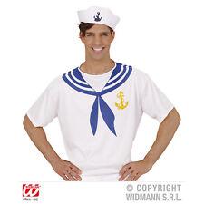Kostüm Shirt Oberteil Matrose Seemann Sailor bedruckt Unisex M Matrosenhemd
