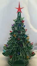 Ceramic Christmas Tree Vintage. New made in USA