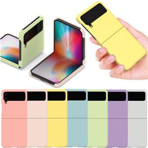 Alpha Pastel Hard Case Cover for Samsung Galaxy Z Flip3